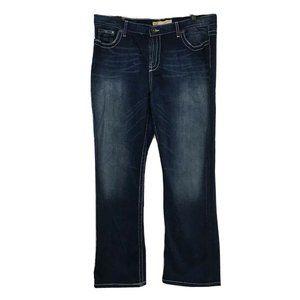 BKE Jeans 36 Drew Dark Boot Thick Stitch